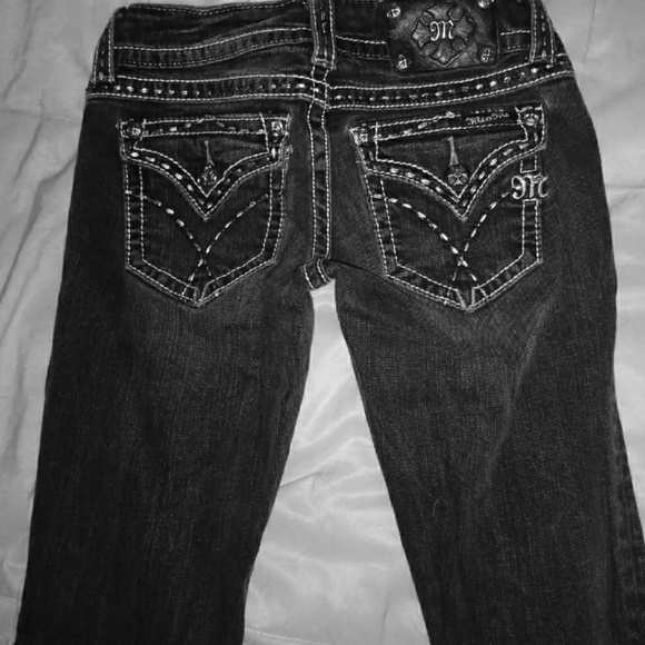 Miss Me Denim - Black Miss Me Jeans Sooooo Cute! *!